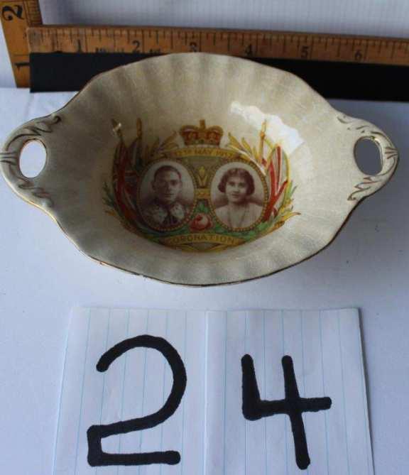 1937 Commemorative Dish
