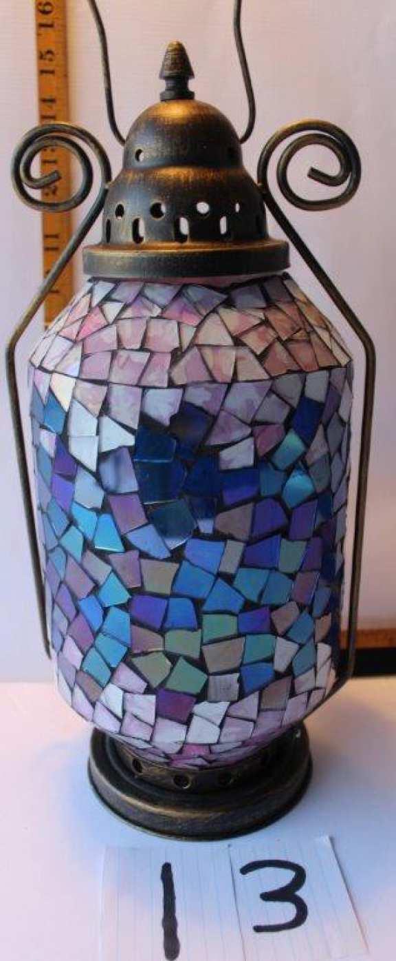 Art Deco Candle Lantern