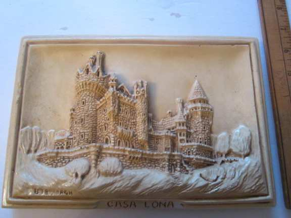 Casa Loma 3D plaque