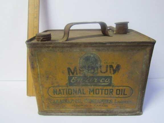 EN-AR-CO National motor oil can