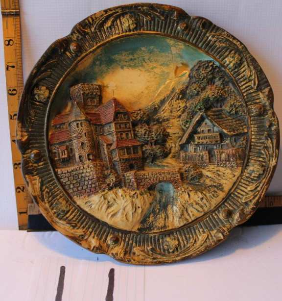 Hand-Painted Wall Plate