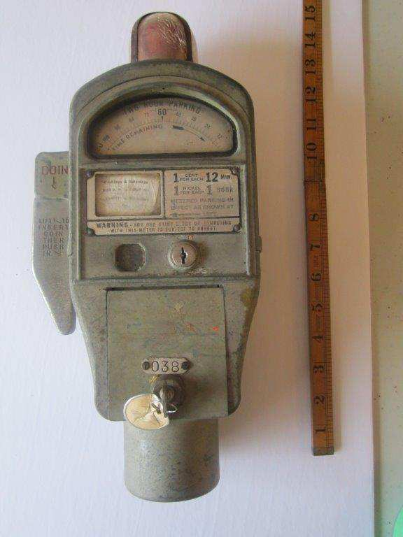 Martin Red Ball parking meter