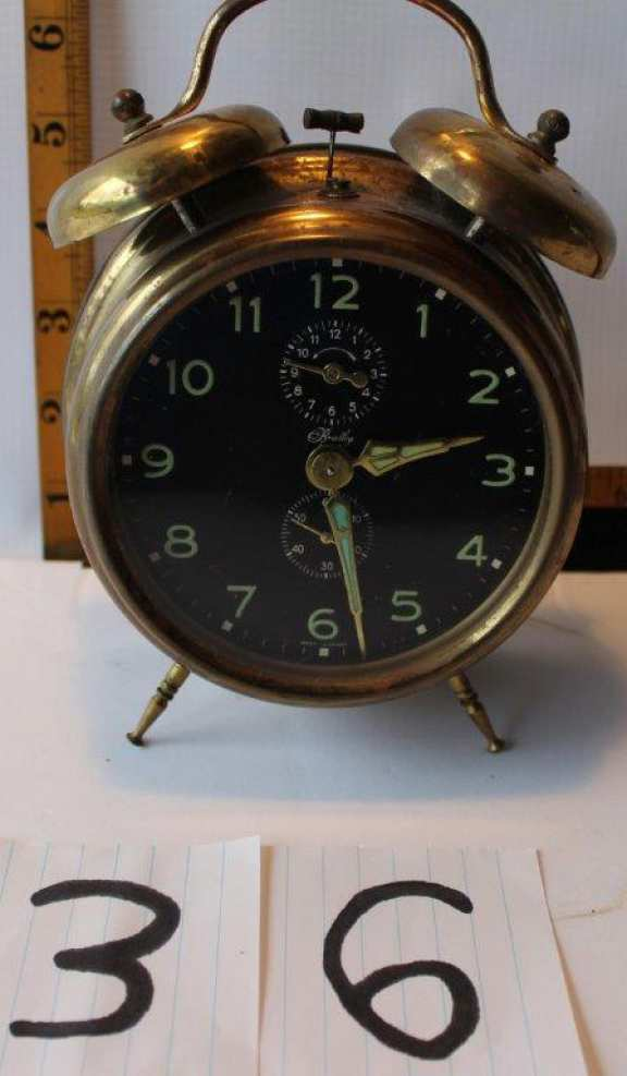 Old Brass Alarm Clock