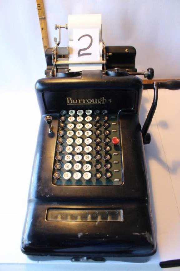 Old Burrough's Adding Machine