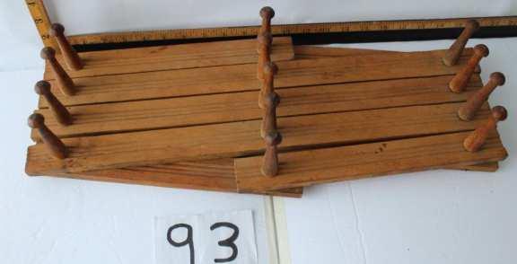 Old coat rack