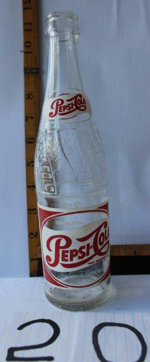 Old Pepsi Cola Bottle