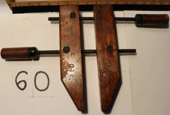Old Wooden Clamps