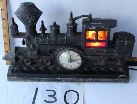 Railroad Engine Clock