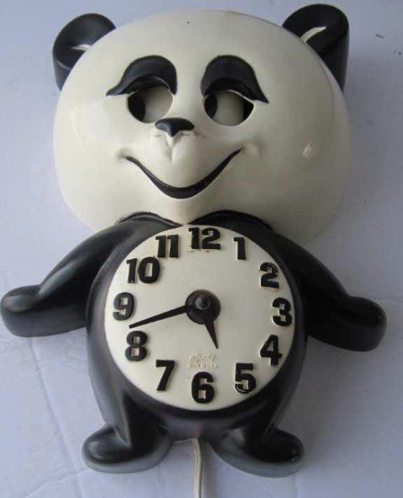 Spartus Animated Bear Clock
