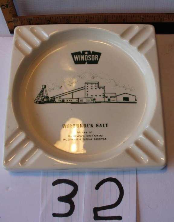 Windsor Salt Ashtray