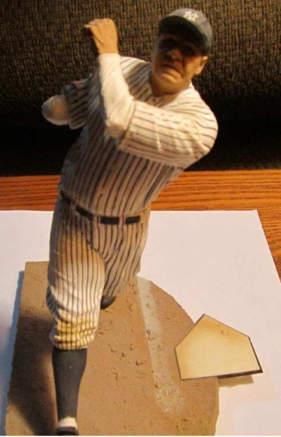 Babe Ruth Statue by C M G