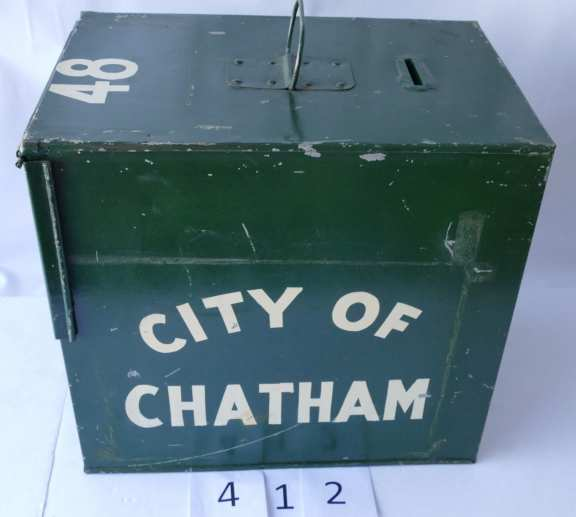 Ballot Box City of Chatham