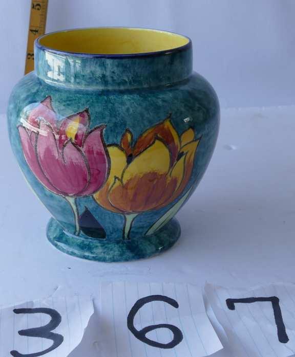 H&K Tunstall Pottery Vase