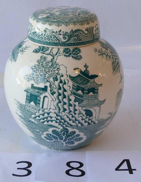 Ornate Mason's Patent Ironstone China Tea Jar