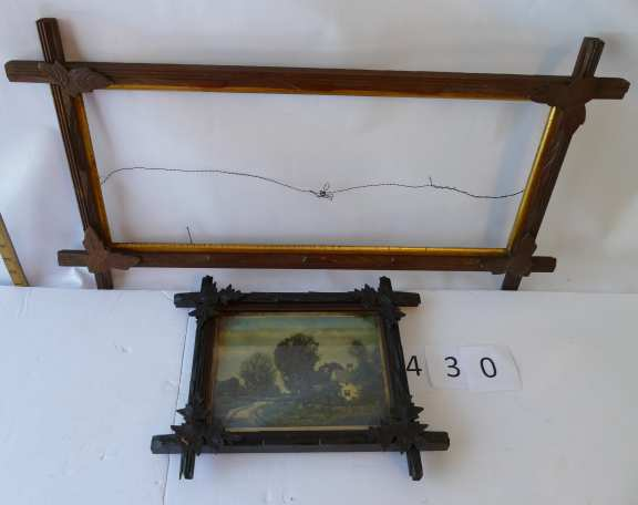 Ornate Wooden Picture Frames (2)