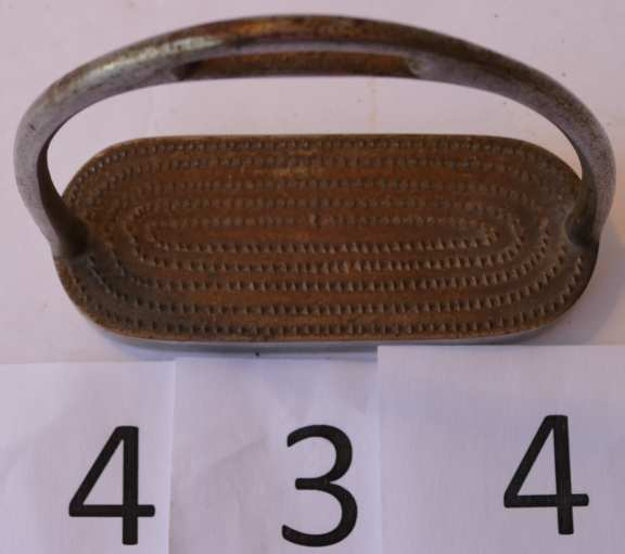 Paper Weight in shape of horse stirrup