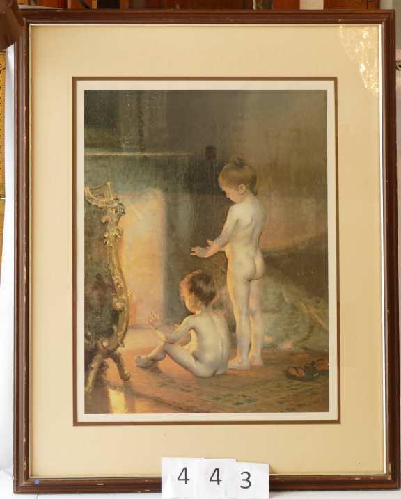 "Paul Peel Print ""After the Bath"""