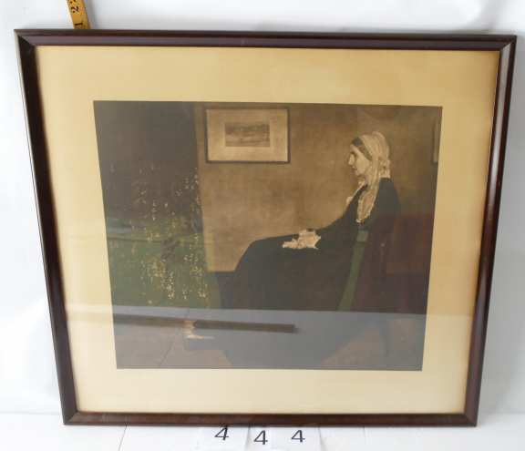 Portrait of Whistlers Mother