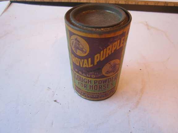 Royal Purple Cough Powder for Horses