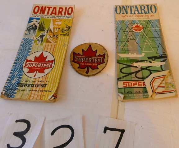 Supertest Ontario Road Maps