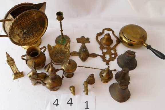 Various Brass Trinkets