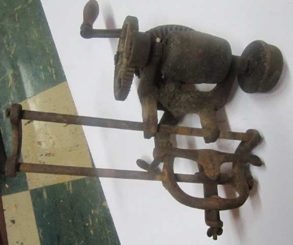 Vintage stationary sharpening tool