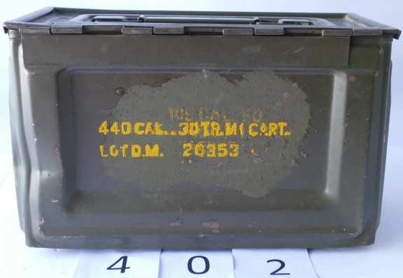 Vintage WWII AMM Box Calibre 50 M2