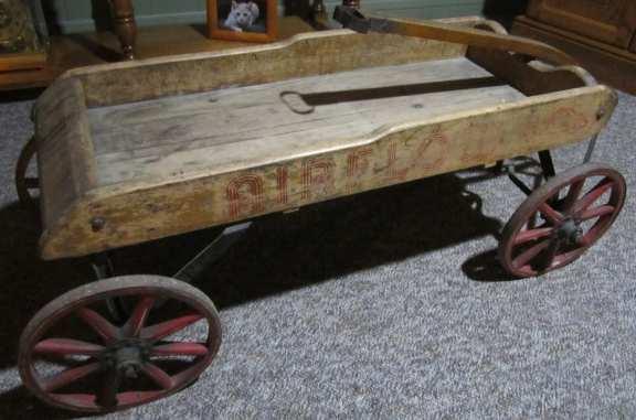 Werlich wooden wagon
