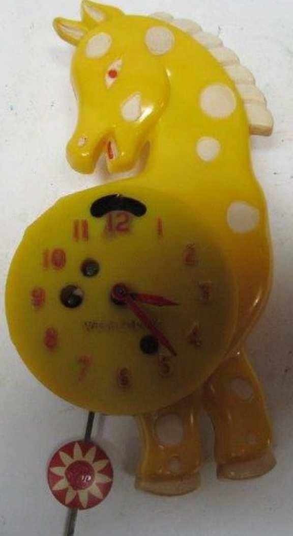 Westclock Pony novelty clock