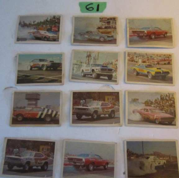 American Hot Rod Association Cards