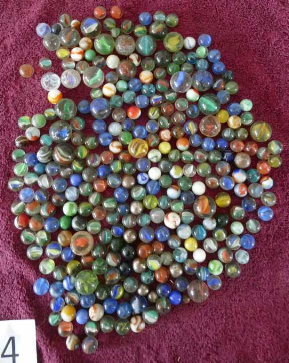 Assorted Marbles (4)
