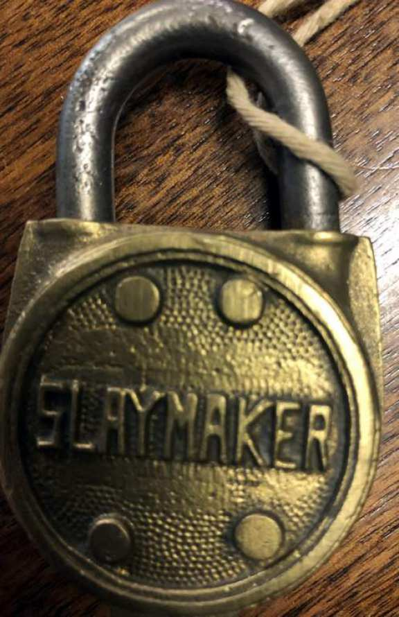 Brass Slaymaker model 10