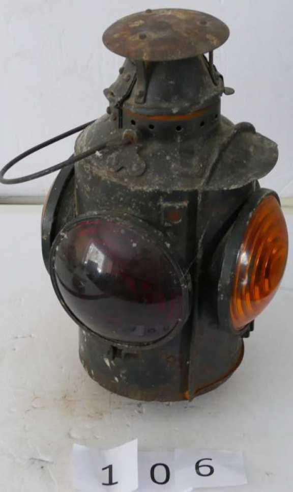 CNR Railroad Signal Lantern