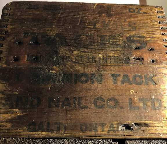 Dominion Tack & Nail Company Box