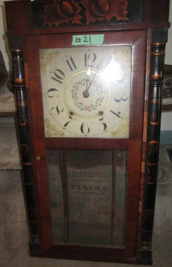 Early column clock