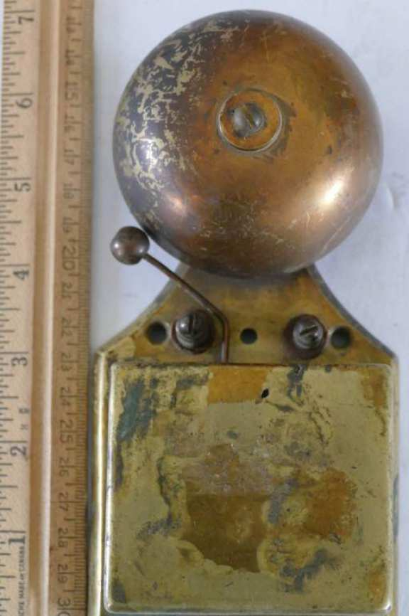 Electric Brass Alarm Bell