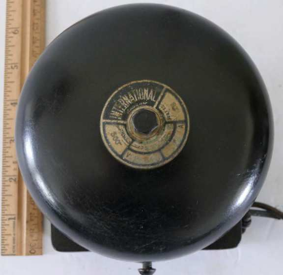 International Electric Alarm Bell