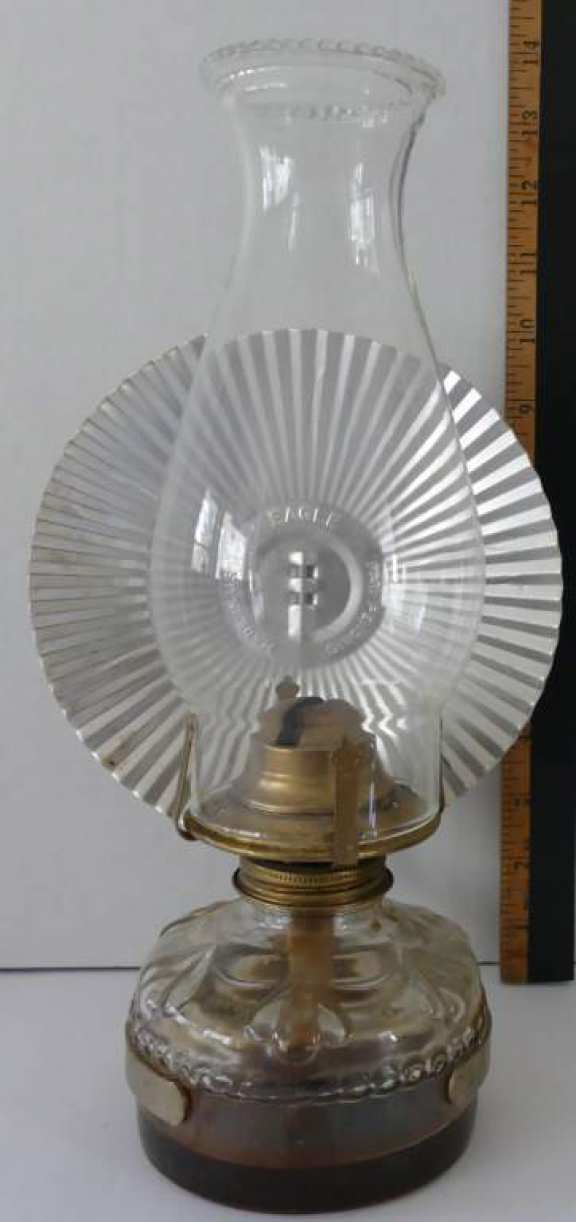 Kerosene Lamp with Reflector