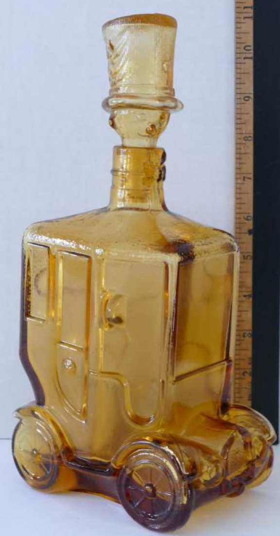 Liquor Bottle - Shape of Car