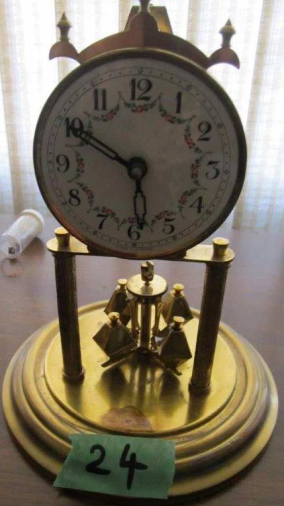 Miniature 400-day clock