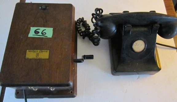Northern Electric phone set