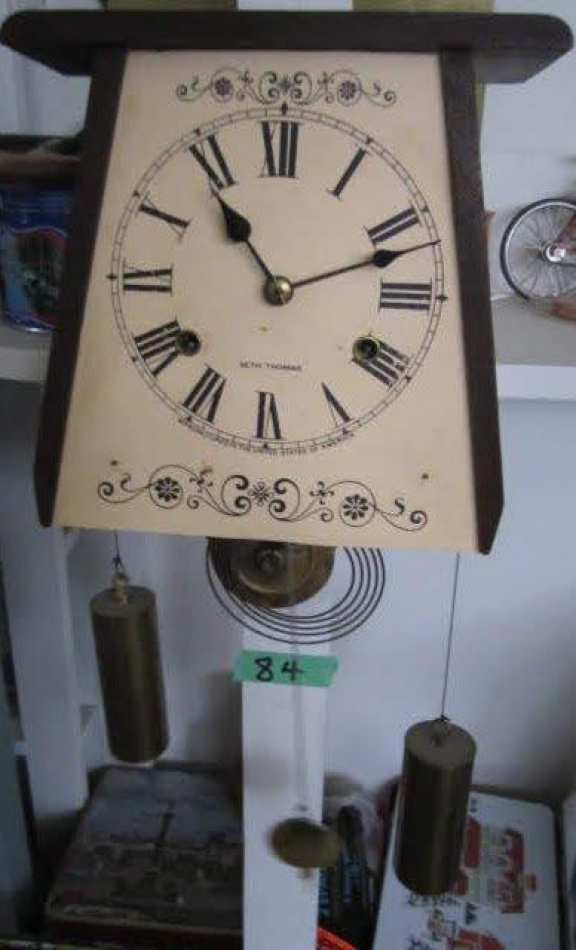 OG salesman's sample clock
