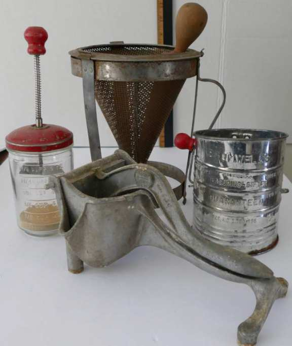 Old Kitchen Utensils