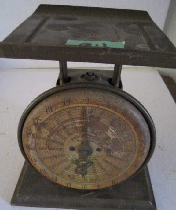 Old parcel post scale