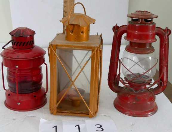 Set of Three - Lanterns