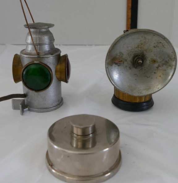 Set of Three Vintage Lamps