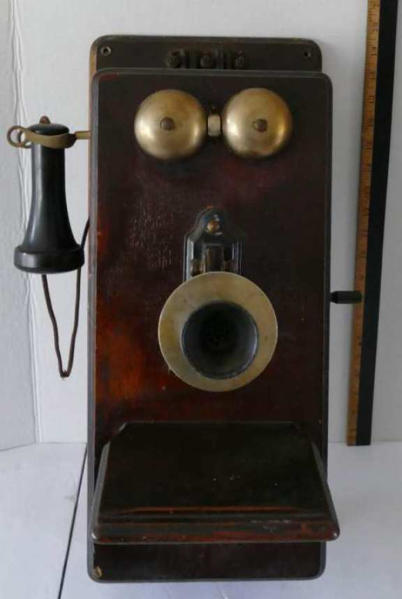 Stromberg/Carlson Wooden Wall Phone