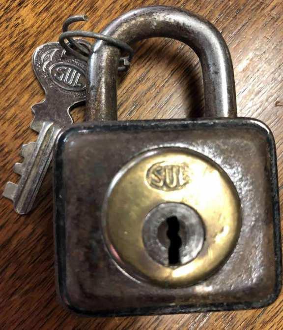 Sul of Germany padlock