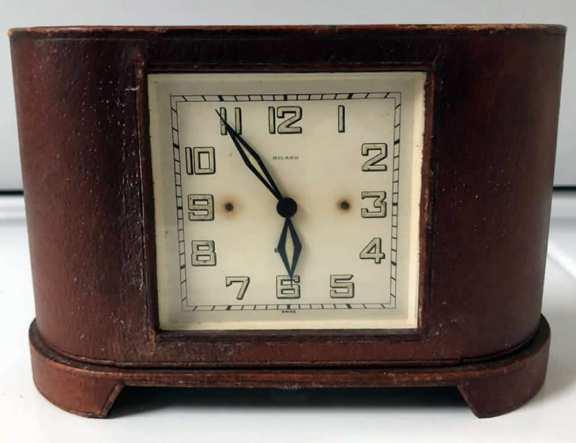 Swiss Billand 8 day desk clock