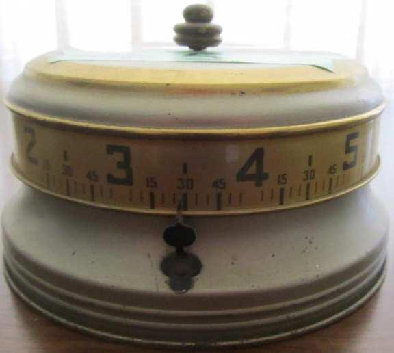 Tape measure clock
